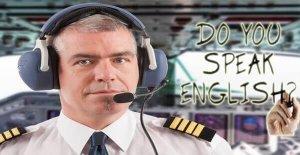 pilot olmak için ingilizce şart