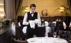 yemek yerlerinde çalışmak