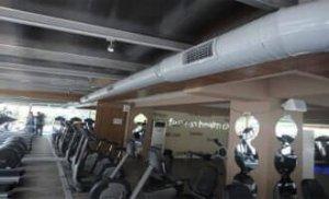 spor salonu havalandırma