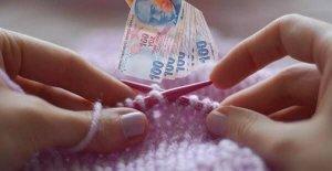 parayla örgü örmek istiyorum