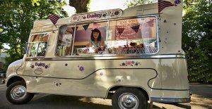 seyyar dondurma dükkanı oluşturmak