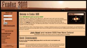 exodus 3000