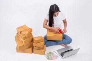 evde paketleme işleri yapın
